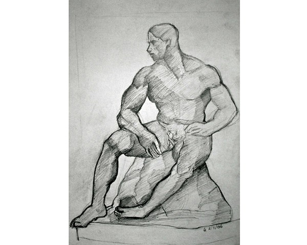 After: August Rodin, The Athlete