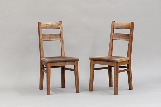 walnut chairs