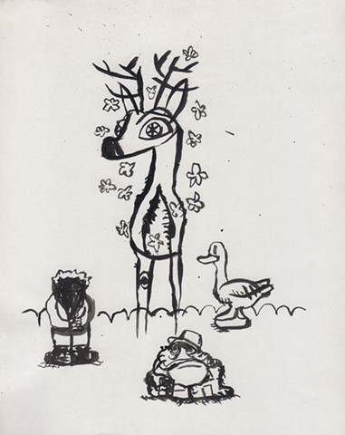 """Deer and Friends"""