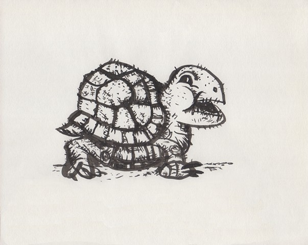 """Surly Turtle"""