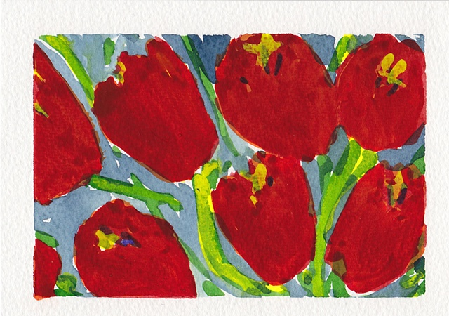 Red Poppies (Detail V11)