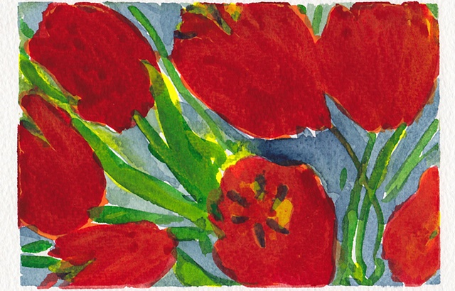 Red Poppies ( Detail 1)