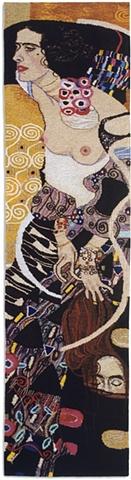 tapestry, wall hanging, ziejka, klimt