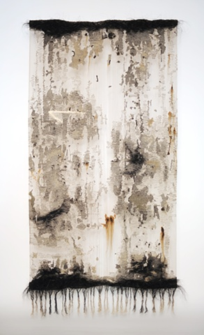tapestry, wall hanging, fiber art, marzena ziejka