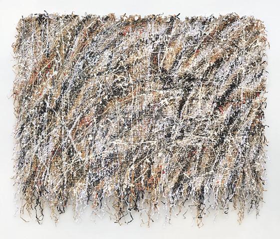 Ziejka art, textile art, fiber art, recycled art