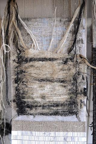 tapestry, fiber art, ziejka, sendai