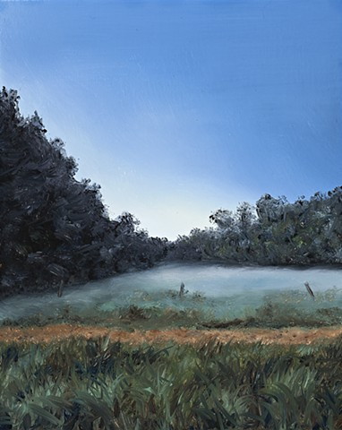 Early evening mist rising SOLD