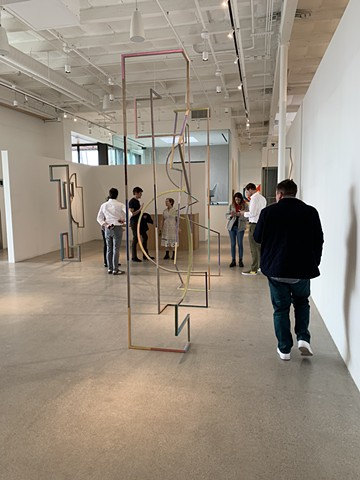 Installation view: Molly Larkey at Euclid