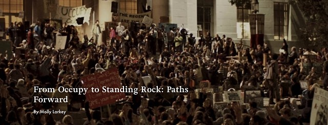 FROM OCCUPY TO STANDING ROCK, Los Angeles Review of Books, Spring 2017