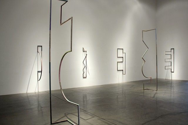 Installation view, Ochi Gallery