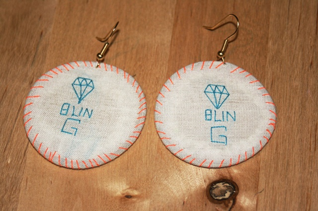 embroidery hoop earings