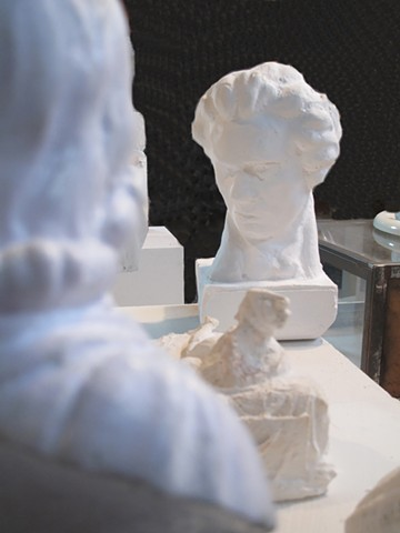 3-d printing, museum files, case of characters