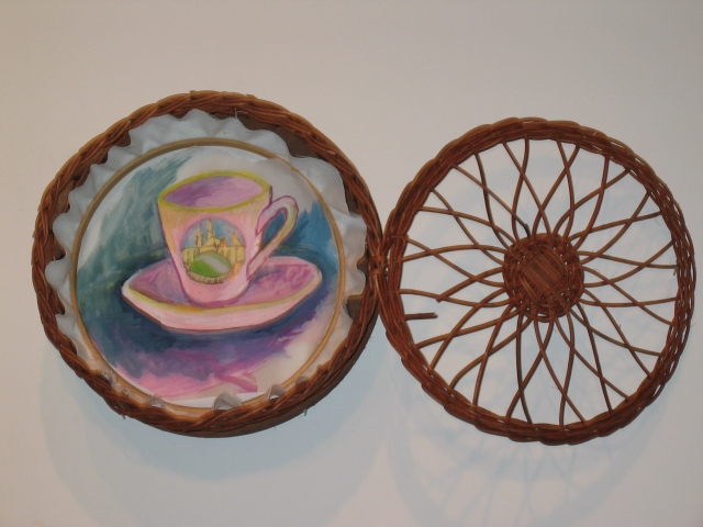 FRAGMENTS: Teacup with Basket