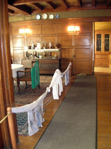 Dining Room with WorkShirts