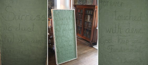 Chesterwood, Excavating History, dickinson, Daniel Chester French's letters