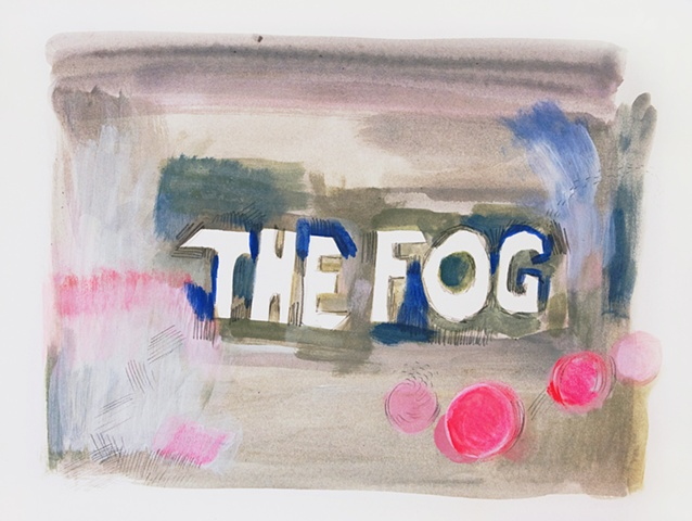 the fog drawing