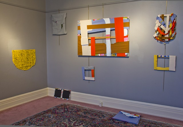 installation shot, Dayton Society of Painters and Sculptors