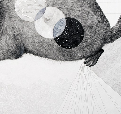Repeat and Shift: Badger (detail)