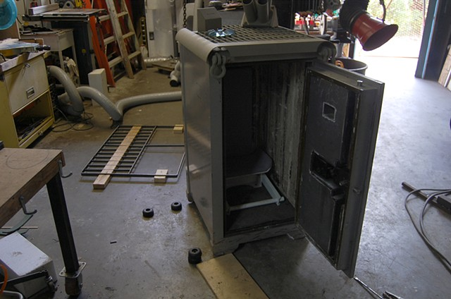 SAFE (work in progress) Seat installation and RPG defensive grating fabrication