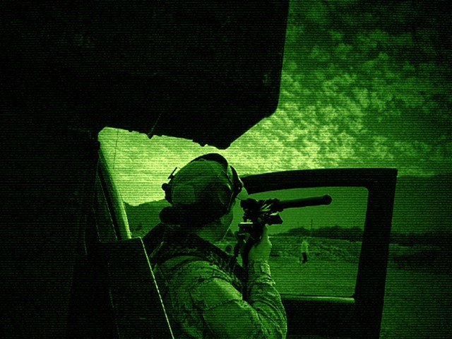 Harmonica Sidearm (night vision)