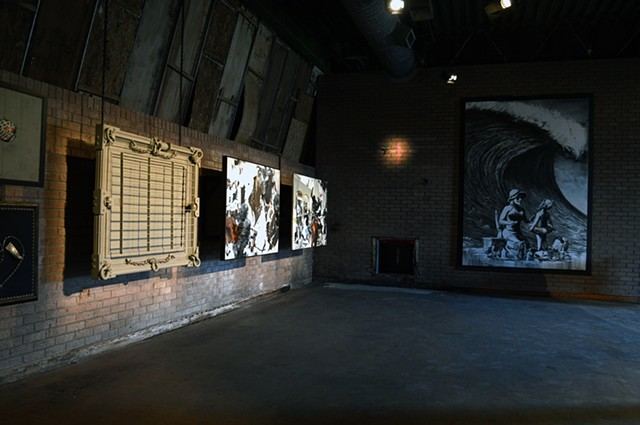 Grand Narrative  Exhibited at Banksy's Dismaland