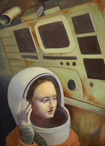 Lyndsea Cherkasky - Lyndsea Cochrane - Hermetic - oil on canvas