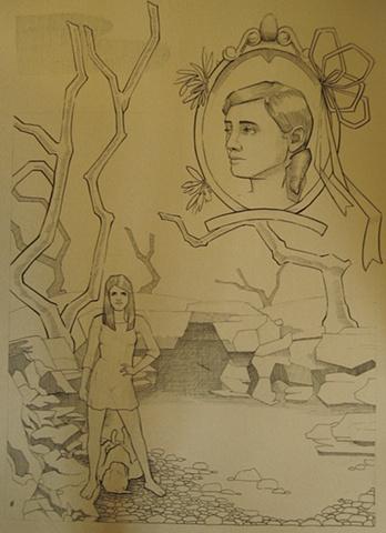Lyndsea Cherkasky - ink on paper