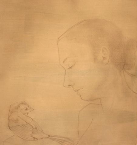 Lyndsea Cherkasky - Lyndsea Cochrane - graphite on paper