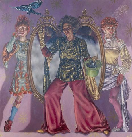 Cecilia the Astonishing & her lovely assistants Masculinum/Femininum