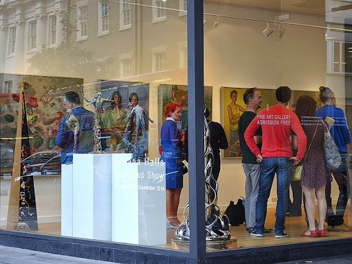 Appetite, Hay Hill Gallery, Baker St, London, 2014