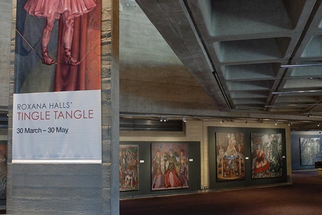 Roxana Halls' Tingle Tangle, Lyttelton Foyer, National Theatre.