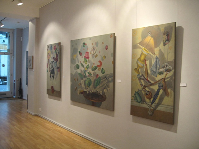 Shadow Play, Hay Hill Gallery, Cork St, London