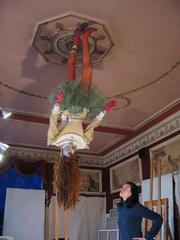 Dorothy Walking The Ceiling