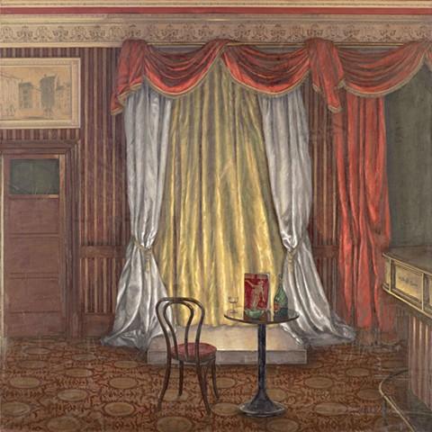 Curtain Down