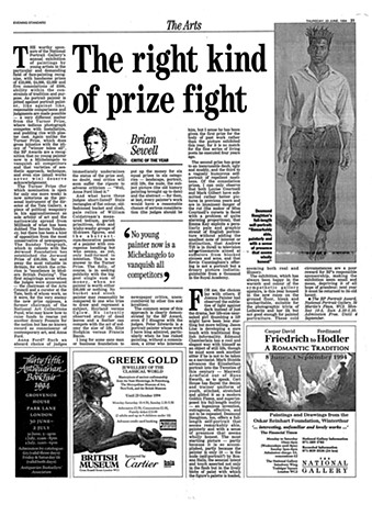 'The Right Kind of Prize Fight'
