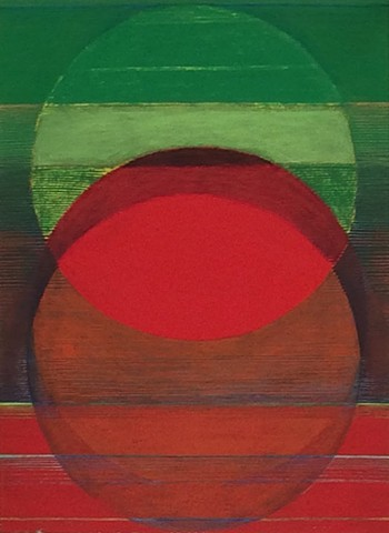 Untitled (Green into Red)