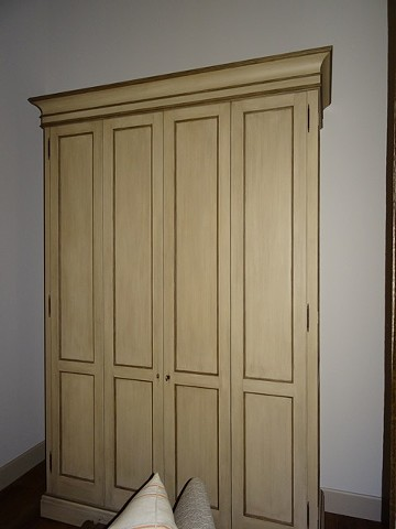 Custom Media Room Armoire