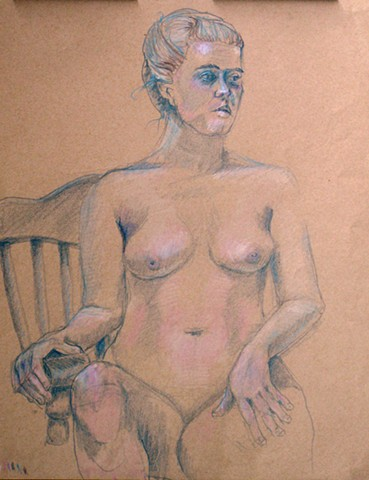 Seated Nude Female