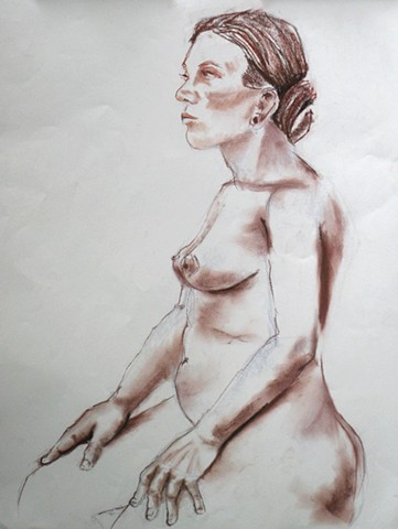 Seated Female Nude 2