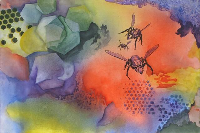 When Bees Dream No. 9_Half