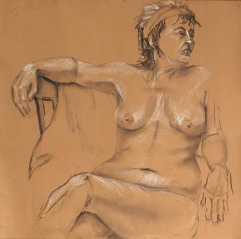 Female Nude with Attitude