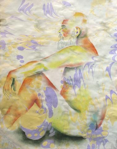 Marbled John Seated Yogi