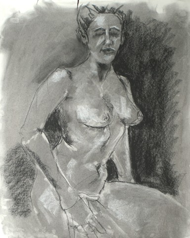 Seated Female Torso