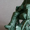 detail, Amputee Army Man