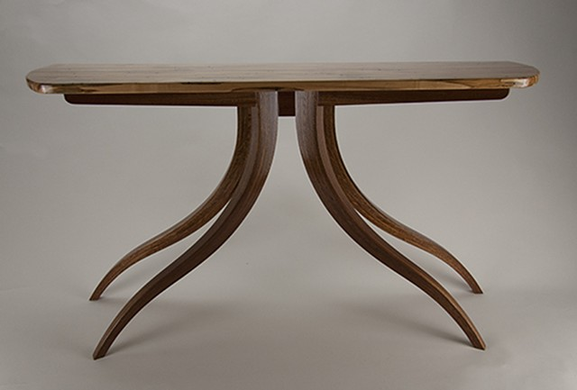 Hall table, inspired by tree images