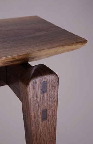 Walnut slab 2 mortise and tenon detail