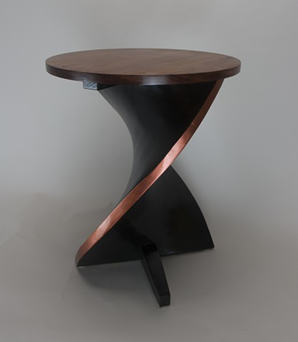 cocktail table, helix