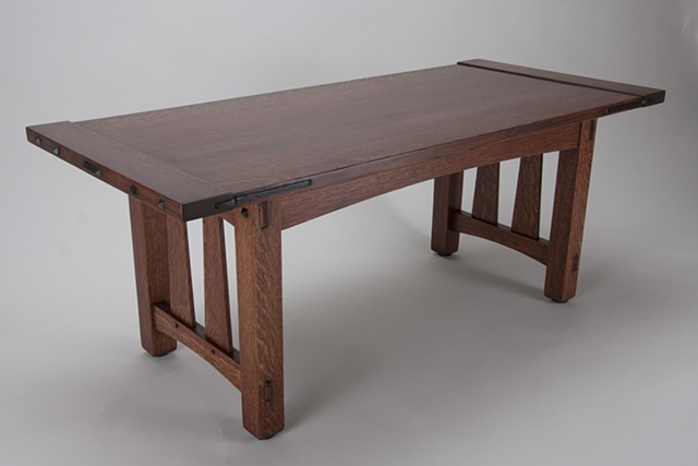 Quartersawn White Oak Coffee Table