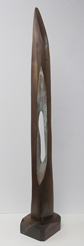 sculpture, abstract, wood