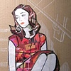 Untitled 1 (girl on stairs) SOLD